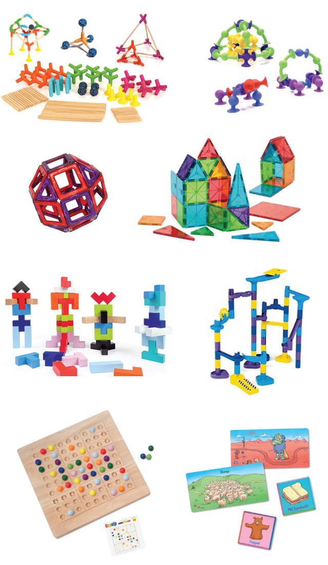 Creative Toys & Games for Young Children